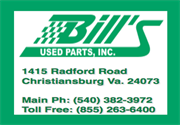 Bills Used Parts Inc