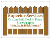 Superior Services Deck and Fence