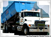 Top Dog Dumpster Rental Peoria, IL