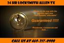 24 Hr Locksmith Allen TX