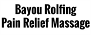 Bayou Rolfing | Pain Relief Massage