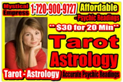 Accurate Psychic Readings by Mystical Empress