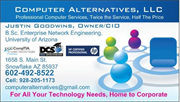 Computer Alternatives, LLC