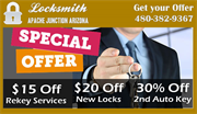 Locksmith Apache Junction Arizona