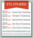 Dryer Vent Cleaning Mesquite TX