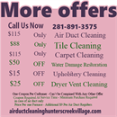 Air Duct Cleaning Hunters Creek Village TX