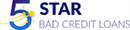 5 Star Bad Credit Loans